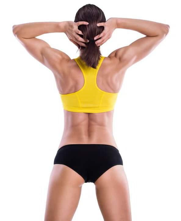 Rückentraining Muskel Frau